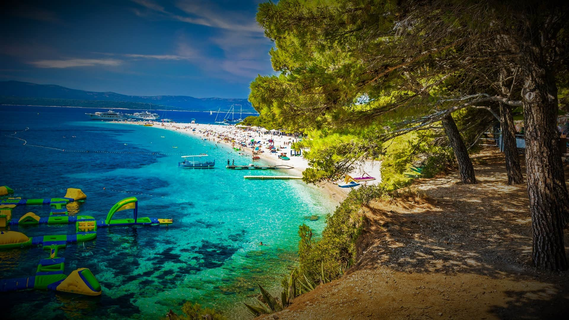 Discover most beautiful beaches in Croatia