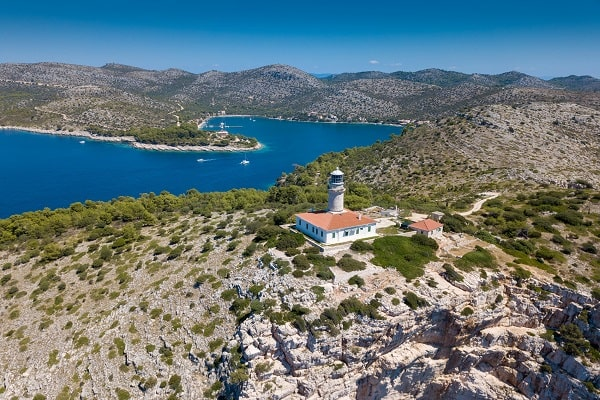 Apartments and private accommodation Lastovo Croatia